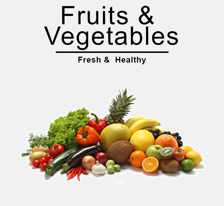 Fruits & Vegetables online shopping store