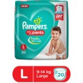 Pampers Baby Dry Pants Large 9 To 14 KG