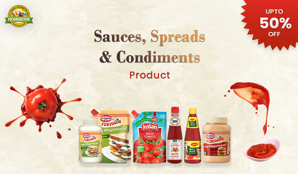 Sauces Spreads Condiments