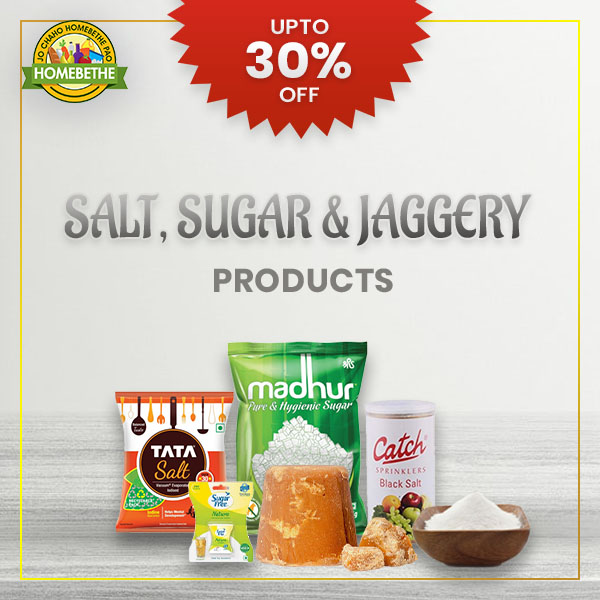 online grocery shopping for Salt Suger Jaggry