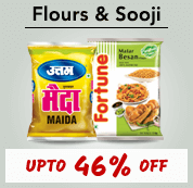 online grocery shopping for Flours Sooji