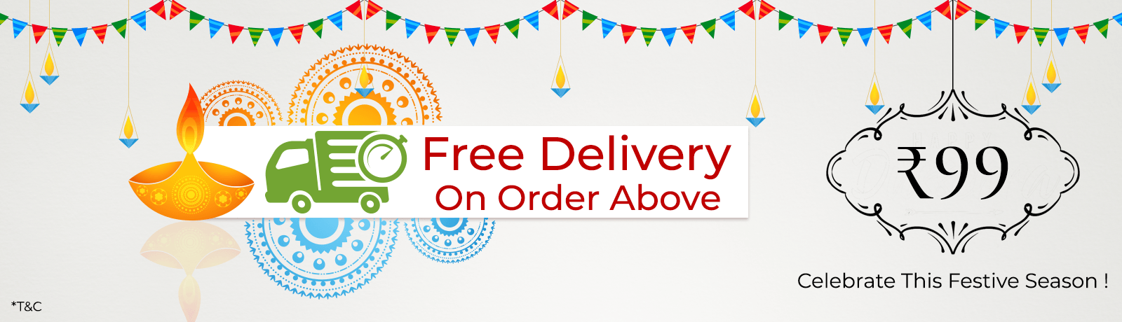 Free Delivery above 99