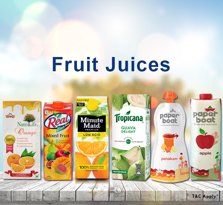 Buy fresh fruit juices online