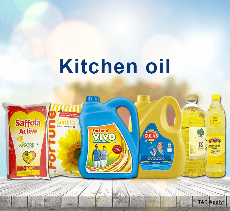 online grocery shopping for kitchen oil