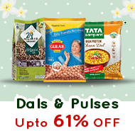 online grocery shopping for Dals & Pulses